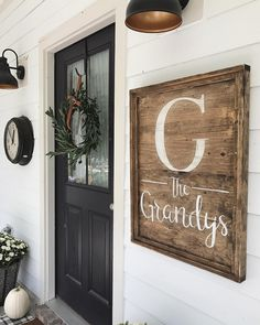 Today Is The Last Day To Finalize Your Spot In My Monogrammed Porch Sign Project Party