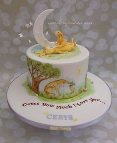 Guess How Much I Love You........ - Cake by The Crafty Kitchen - Sarah Garland - CakesDecor