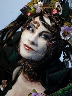"""Gothic Faërie"" book by Séverine Pineaux ... a little bust inspired by the main character, and the model was Hazel Imrama Danse. by VIRGINIE ROPARS"