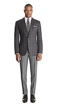 Men's Business Outfits, Business Casual Men, Mens Fashion Suits, Mens Suits, Casual Suit, Men Casual, Suit Supply, Dapper Men, Suit Separates