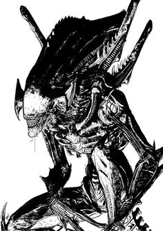 """This is a tumble-log devoted to the """"Alien"""" and """"Predator"""" film franchises, especially designs by HR Giger (and direction from directors Ridley Scott, James Cameron, et al). Alien Vs Predator, Predator Alien, Arte Alien, Alien Art, Alien Pics, Star Wars Poster, Star Wars Art, Star Trek, Giger Alien"""