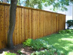A lot of character in our fencing material.