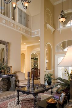 Toll Brothers...terrific details in this living space.