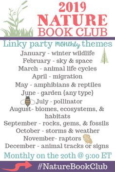 The Nature Book Club Link Up Archives - Tina's Dynamic Homeschool Plus Hands On Activities, Nature Activities, Summer Activities, Outdoor Activities, Kids Sand, Monthly Themes, Nature Study, Book Club Books, Life Cycles