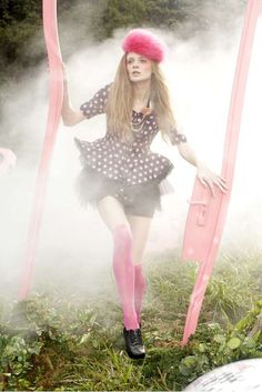 Psychedelic Fashion Campaigns - 'Walking in the Wonderland' by Paul Tsang Will Trip You Out (GALLERY)