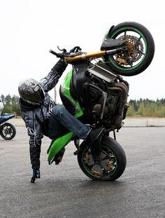 Wheelie #motorcycle