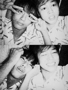 BTS V and Jimin #Vmin