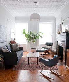 daniel's living room via manhattan-nest