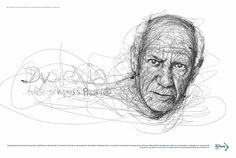 Pablo Picasso by Vince Low