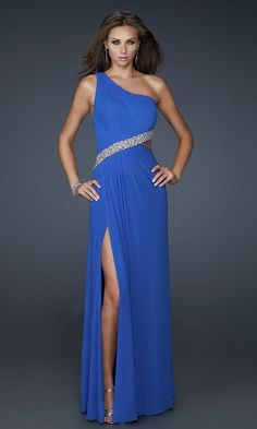 blue dress for prom..