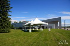 20 x 80 Frame Tent at the Canada Aviation and Space Museum - Big Top Tents
