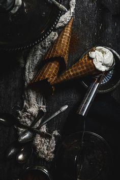 Vanilla bean & cardamom crème fraiche ice cream | Photography & Styling by Christiann Koepke of Christiannkoepke.com_-2