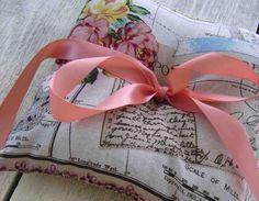 Vintage Ring Bearer Pillow