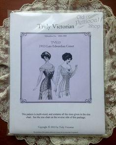 1878 Underskirt Schnittmuster Truly Victorian TV 221