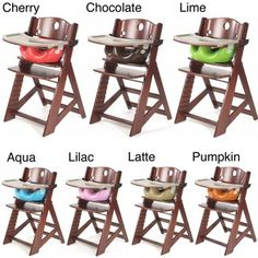 @Overstock.com - The Keekaroo High Chair, Infant Insert and Tray with Cover is a stylish seating solution for babies. The sturdy wooden high chair holds up to 250 pounds so it can be used for years.http://www.overstock.com/Baby/Height-Right-Mahogany-High-Chair-with-Infant-Insert-and-Tray/5395953/product.html?CID=214117 $199.95