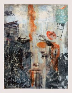 """Untitled Collage 12""""x18"""""""