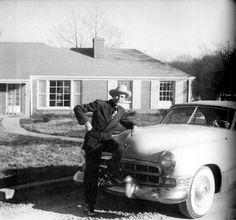 Hank W. Sr & his 1949 Cadallic