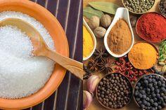 cut back on salt, season with spices instead (Anti-Inflammatory Food Swaps)