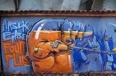 Arsek and Erase street art #streetart #urbanart #bestgraffiti #amazingstreetart