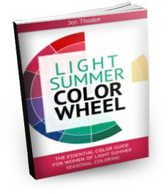 Light Summer Style Guide - Discover how to wear your light summer colors through the use of the light summer color wheel and color combinations. Lots of inspiration! Click to learn more...