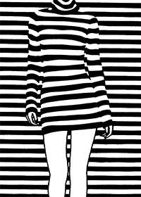 Heinz Pfister - paper cutting / black & white