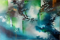 Portraits, Nature, Art Ideas, Painting, Colorful, Canvases, Abstract, Naturaleza, Painting Art
