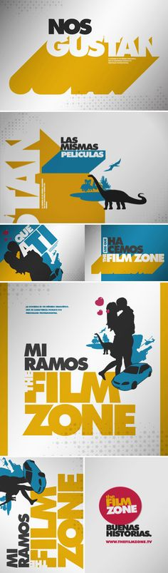 The Film zone. We like it. In the film zone we like the same things to you ... the movies! Portfolio: Diego Troiano. Currently working in FOX LATIN AMERICAN CHANNELS. VP: André Takeda. Art Director: Nicolas Sarsotti. Creative Director: Soledad Podesta. Script: Leandro Katz. Design and animation: Diego Troiano. All work is owned by Fox Latin American Channels.