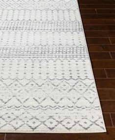 Decorate your floor with appealing Moroccan inspired style with this Harput Bands Rug from Surya.This decorative polypropylene rug features a banded pattern with grids, dots and chevron design elements and has medium pile for underfoot comfort. Polypropylene Rugs, White Rug, Tribal Fashion, Accent Rugs, Neutral Tones, Rugs Online, Joss And Main, Beige Area Rugs, Rug Size