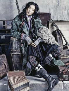 "gd kim sung hee street to street | Street to Street"": Homeless Chic with Kim Sung-Hee and G-Dragon by Kim ..."