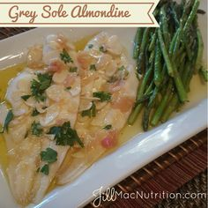 Grey Sole Almondine - Powered by @ultimaterecipe