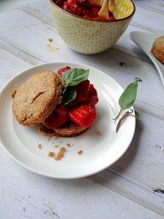 Cinnamon-Basil Strawberry Shortcake. It's strawberry shortcake, 2.0.