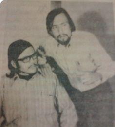 """""""El cuento del zoológico"""" de Edward Albee con Paco Sifuentes como """"Jerry"""" y Jorge Segura como """"Peter"""". Más de 300 representaciones en más de 50 espacios. 1972-1982."""