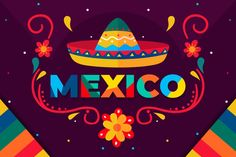 Mexican Holiday, Mexican Party, Backgrounds Free, Flower Backgrounds, Mexican Flowers, Mexico Flag, Hispanic Heritage Month, Holiday Day, Mexican Designs