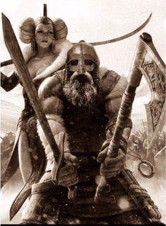 A viking worrior going to war Viking Power, Viking Life, Viking Art, Norse Pagan, Norse Mythology, Fantasy Warrior, Fantasy Art, Viking Warrior Tattoos, Tattoo Avant Bras