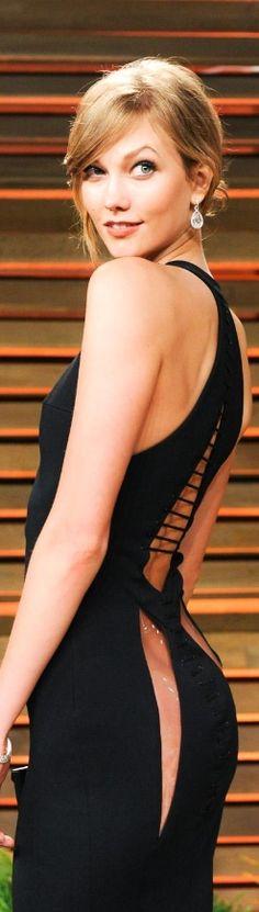 Karlie Kloss Vanity Fair Oscar Party 2014