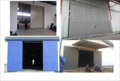 ARKAN JAYA LAS: Jasa Pembuatan Pintu Besi Untuk Gudang Pabrik