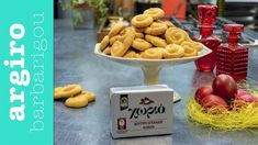 Πασχαλινά κουλουράκια • Keep Cooking by Argiro Barbarigou - YouTube Greek Cookies, Greek Sweets, Greek Recipes, Easter Recipes, Biscuits, Cooking, Breakfast, Desserts, How To Make
