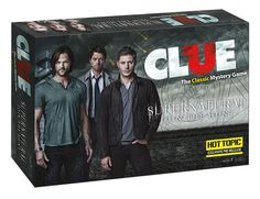 CLUE: Supernatural Collector's Edition | Clue Game | USAopoly Who doesn't want this?! Awesome!
