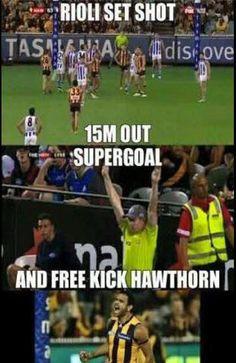Rioli supergoal from a free kick. Richmond Afl, Best Memes, Funny Memes, Aussie Memes, Australia Funny, Football Jokes, Australian Football, Free Kick, Sports Memes