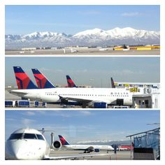 """See 7534 photos from 142826 visitors about delta, scenic views, and cafe rio. """"One of, if not the best """"major"""" city airports. Temple Architecture, Ancient Architecture, Salt Lake City Airport, Salt Lake County, Slc, International Airport, Outdoor Travel, Travel Quotes, Vacation Spots"""