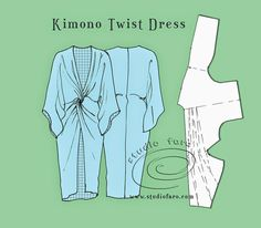 Как скроить платье без отходов (Diy) / Простые выкройки / ВТОРАЯ УЛИЦА