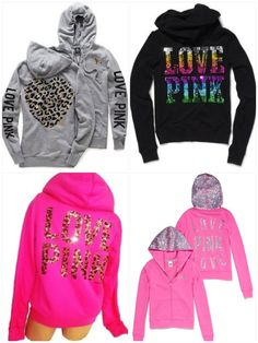 Love Pink Victoria Secret Hoodies
