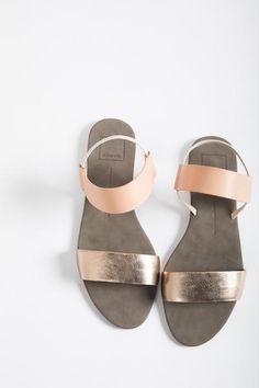 Dolce Vita: Demi Sandal in Natural Multi Leather – Piper & Scoot