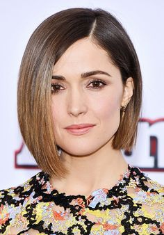 Rose Byrne flaunts a super-sleek bob cut