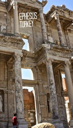 We almost decided not to visit Ephesus in Turkey, but we are sure glad we did! For more information and photos about this amazing place (that houses one of the Seven Wonders of the Ancient World) visit the blog.
