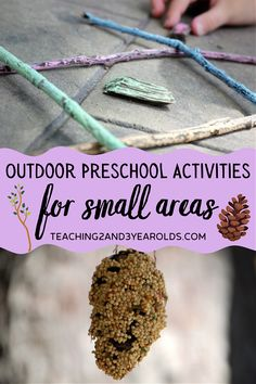 These preschool outdoor activities don't take up a lot of space, so they perfect for small yards and patios. Each idea is playful and fun! #outdoors #nature #patio #toddlers #preschool #teaching2and3yearolds Summer Activities, Preschool Activities, Outdoor Activities, Small Yards, Summer Crafts, Summer Recipes, Toddlers, Outdoors, Space