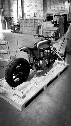 Honda Brat Style Cafe Classified Moto #motorcycles #motos #bratstyle   caferacerpasion.com