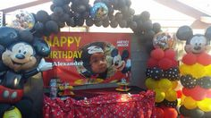 Mickey Mouse balloons theme