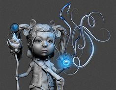 """Check out new work on my @Behance portfolio: """"Mage girl"""" http://be.net/gallery/33166383/Mage-girl"""