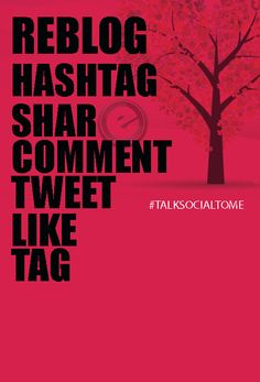 Talk Social To Us! #reblog #hashtag #share #comment #tweet #like #tag via http://www.eminentsocialmedia.com/